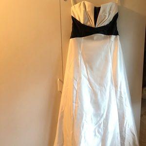 Jessica McClintock Formal Satin Gown (size 9)